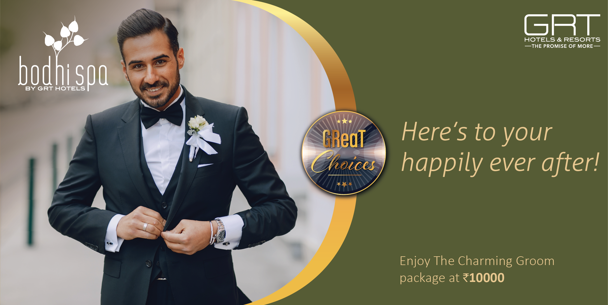 The Charming Groom Package