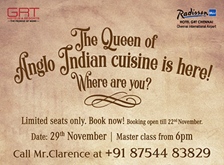 Anglo Indian Masterclass Event Passes