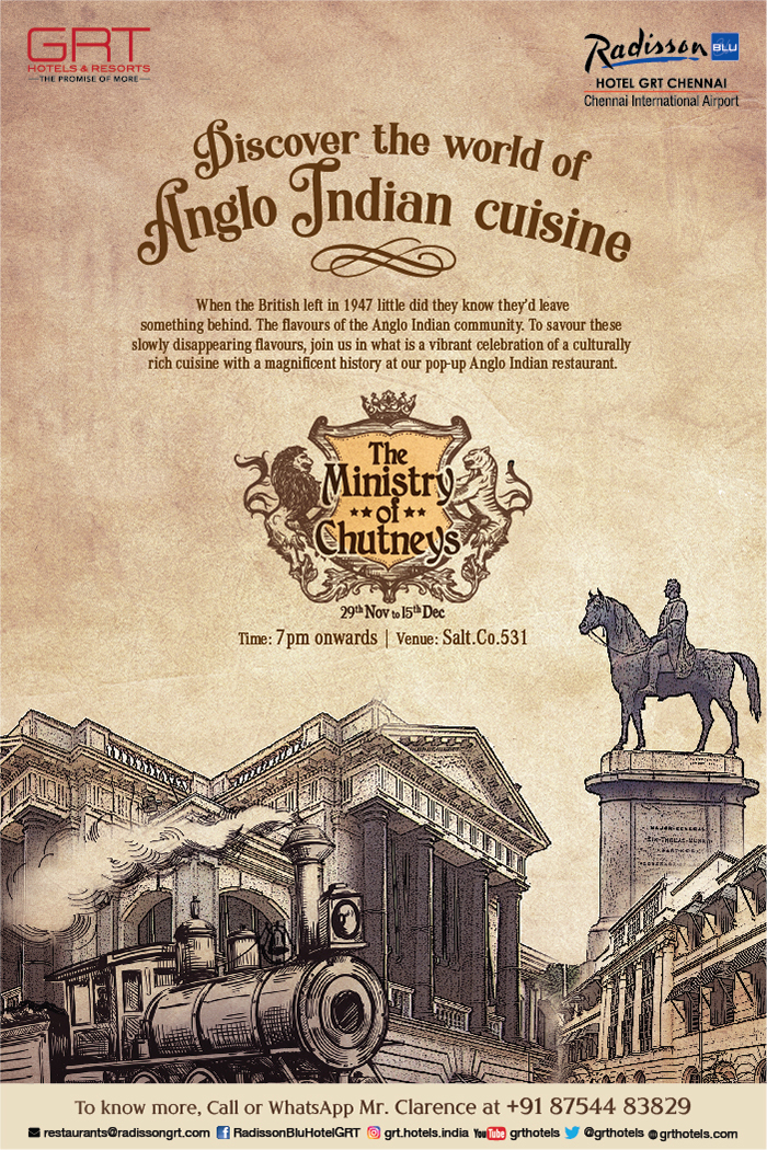 Anglo Indian Cuisine Offer