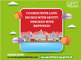 Cooked With Love. Packed With Safety. Unboxed With  Happiness.