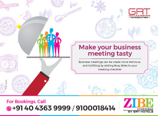 Make your business meeting tasty