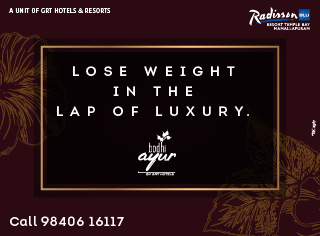 Lose weight in the lap of luxury.